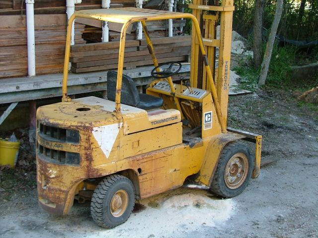 Cat Fork Lift : Jackson custom woodworks