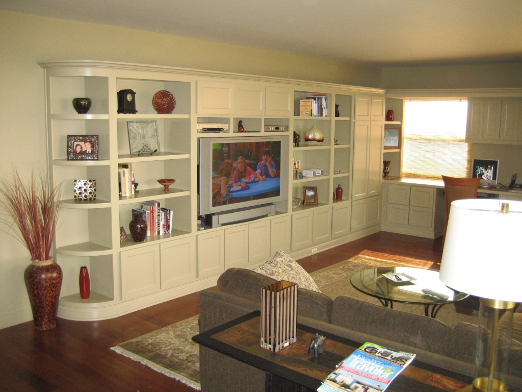 Built In Entertainment Center Plans Free