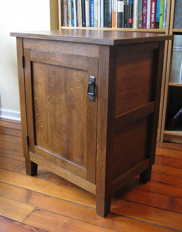 Superieur A Stickley Style Printer Cabinet.