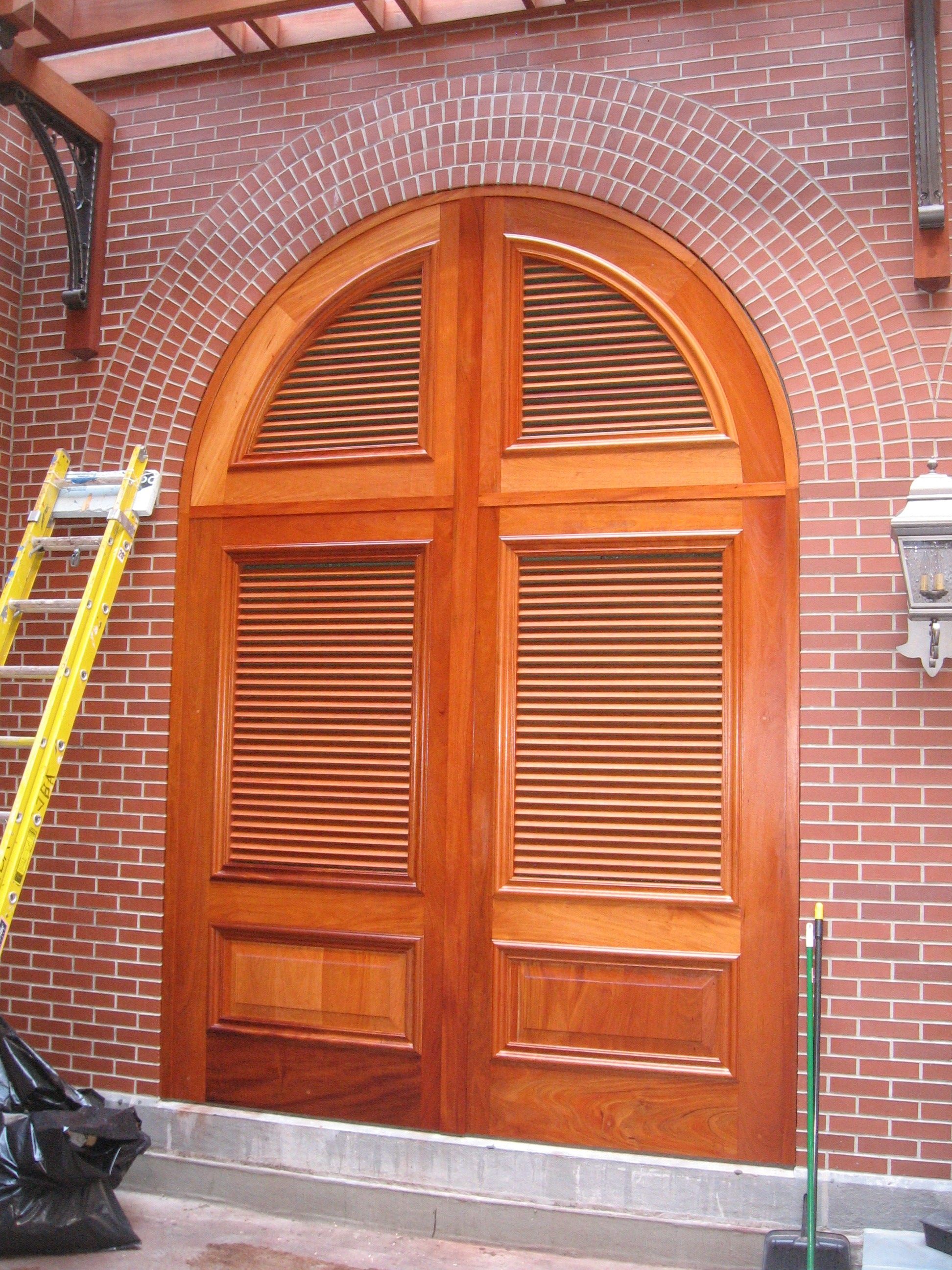 Arched Top Louver Doors Woodweb S Architectural