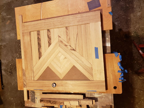 Clamping Parquet Using Epoxy Woodweb S Architectural