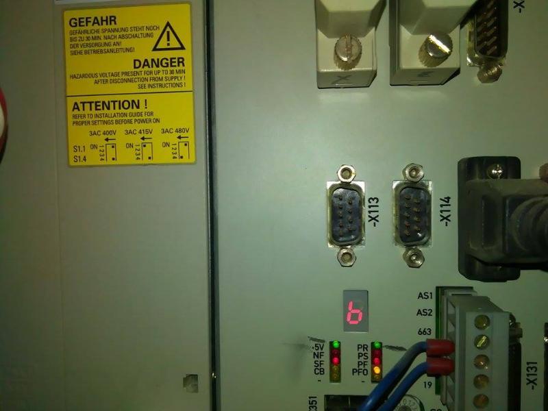 Siemens Sinumerik CNC controls > Sinumerik 810D LED LED