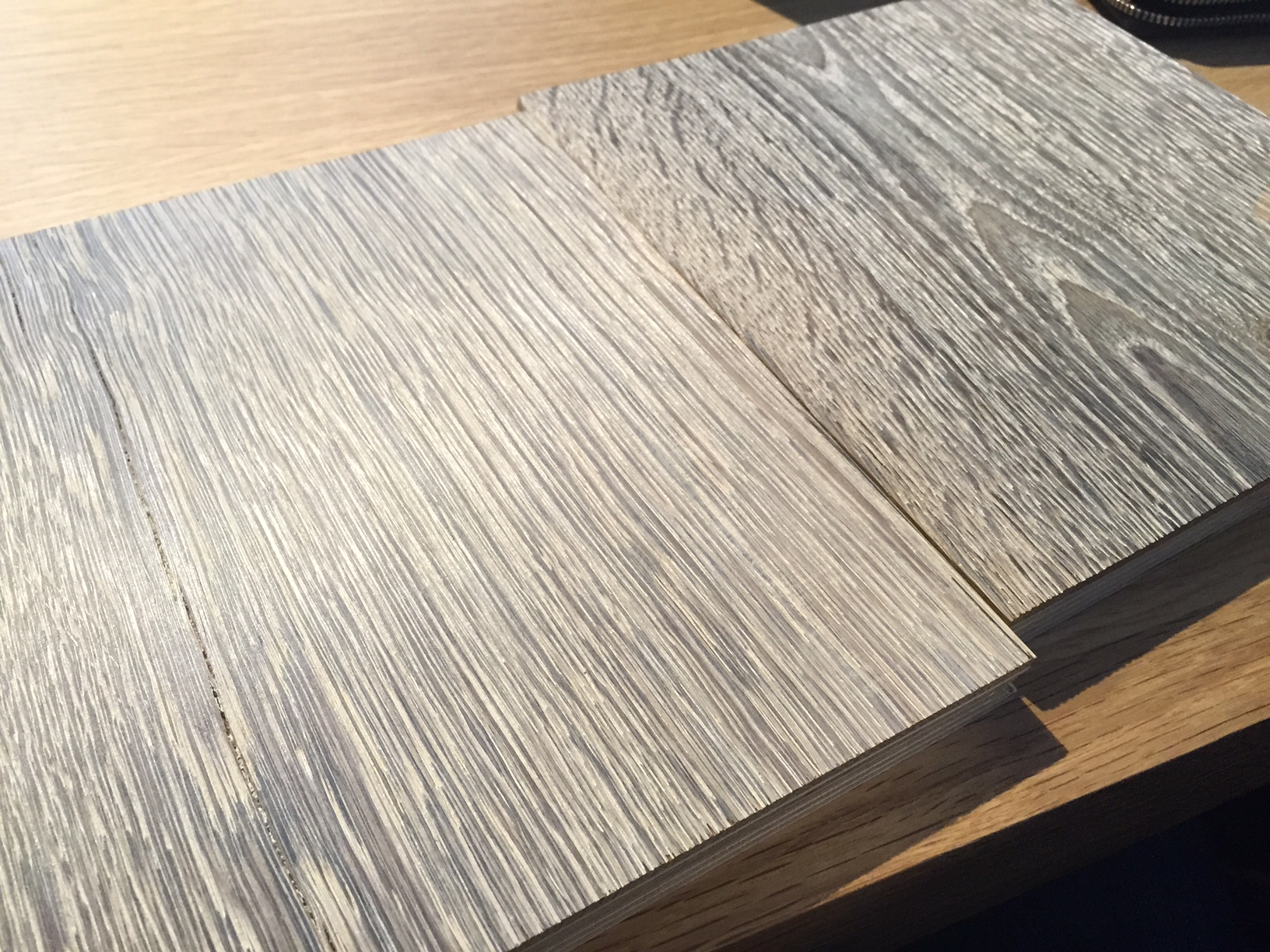 Wire Brushed white/gray oak - WOODWEB\'s Finishing Forum