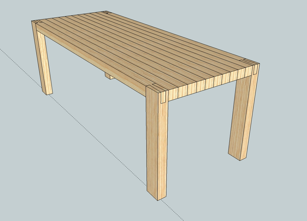 table leg joint strength woodweb 39 s furniture making forum