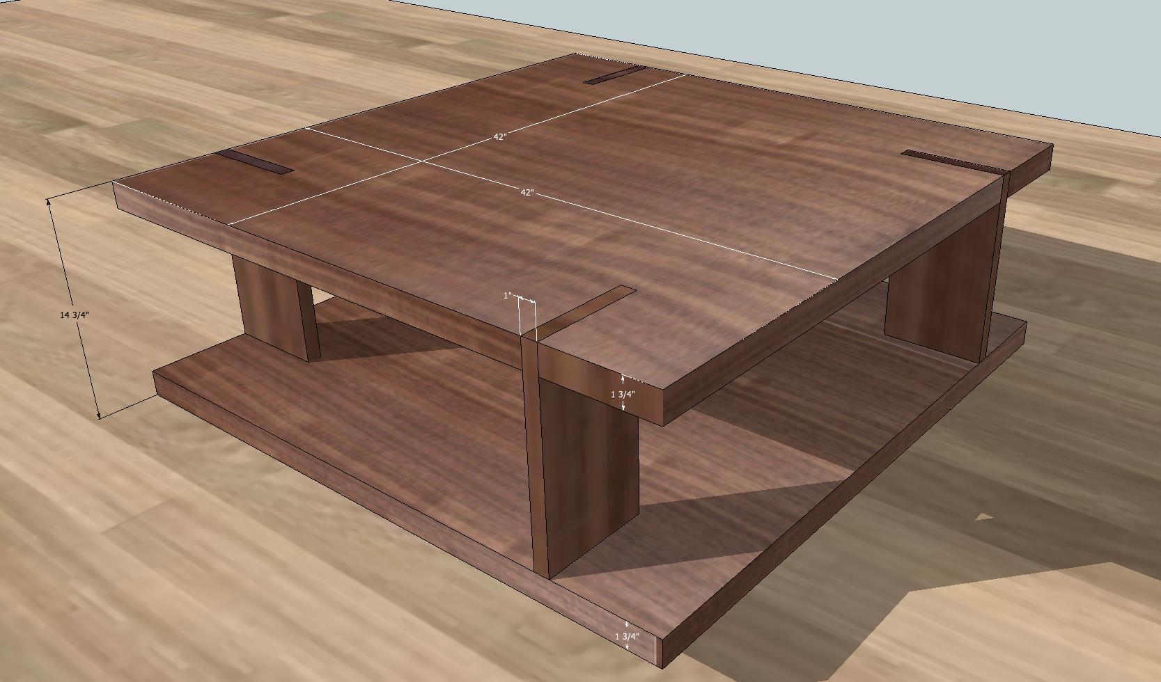 Through Tenon Modern Tables WOODWEBs Furniture Making Forum - Furniture forum