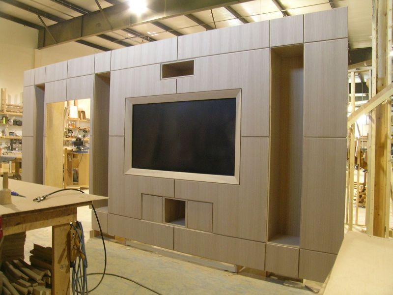 Exceptionnel There Is No Fussing With Doors Or Such, And The Wood Frame Conceals All The  Plastic. It Helps To Have The AV Guys Deliver The Close Fitting Things To  The ...