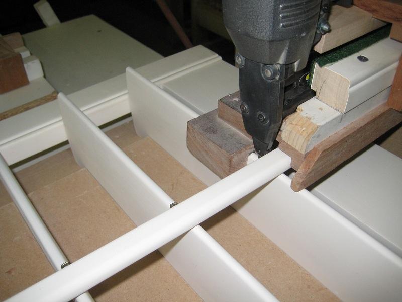 Assembling Operable Louver Shutters