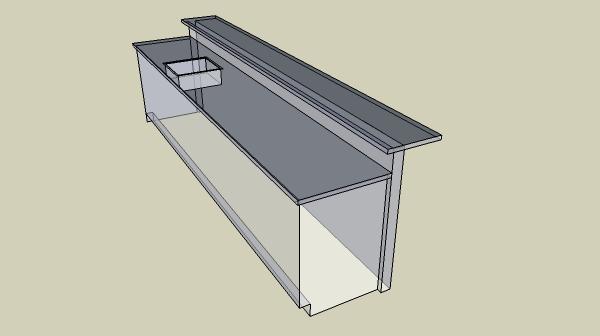Back Bar Cabinet Plans