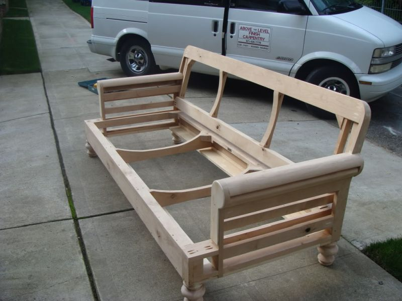 building a club couch from scratch