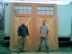 Building Large Exterior Doors