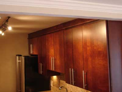 Custom Cabinets For An Out Of Whack Room