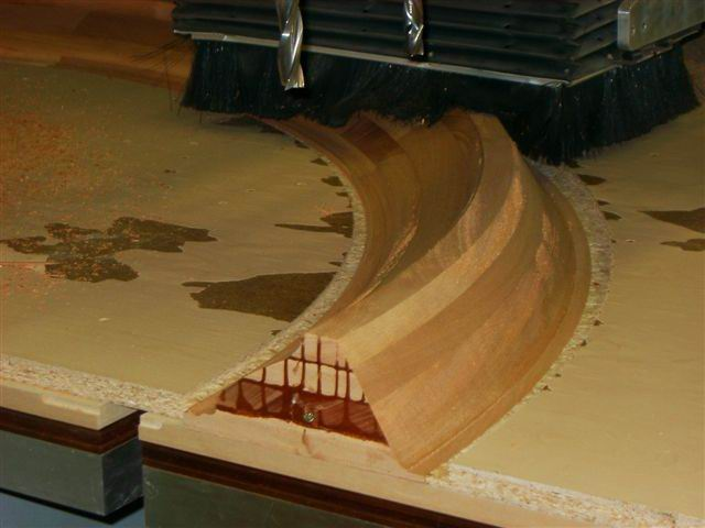 Creating Custom Curved Moulding Profiles With A Cnc Router