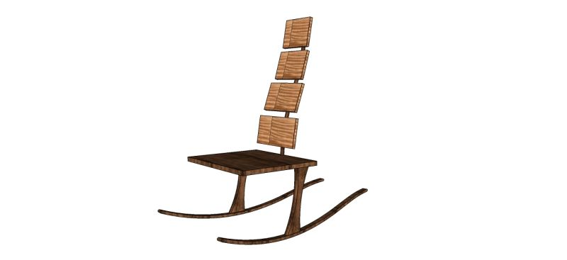 Peachy Designing A Unique Rocker Lamtechconsult Wood Chair Design Ideas Lamtechconsultcom