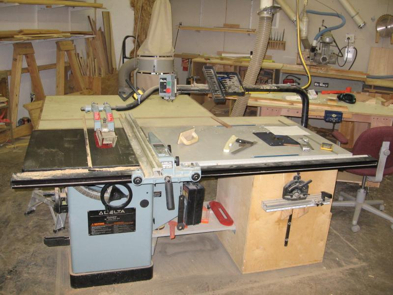 Expanding Table Saw Capacity