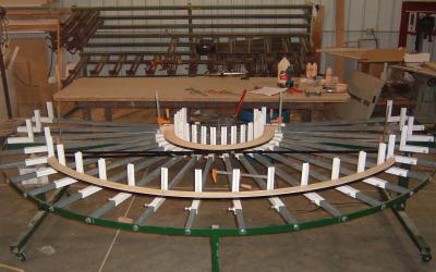 Fabricating Radius And Curved Mouldings