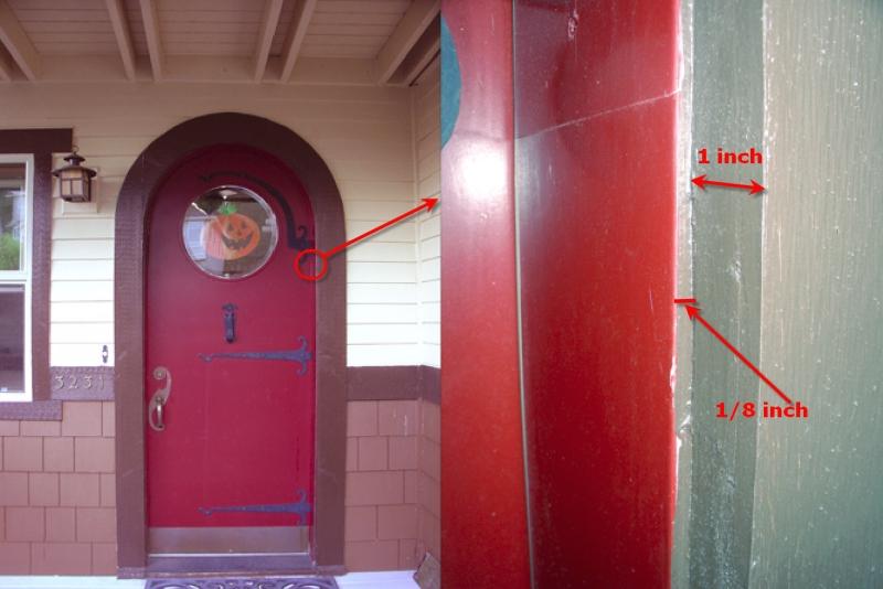 Flexible Door Stop Stock For Curves
