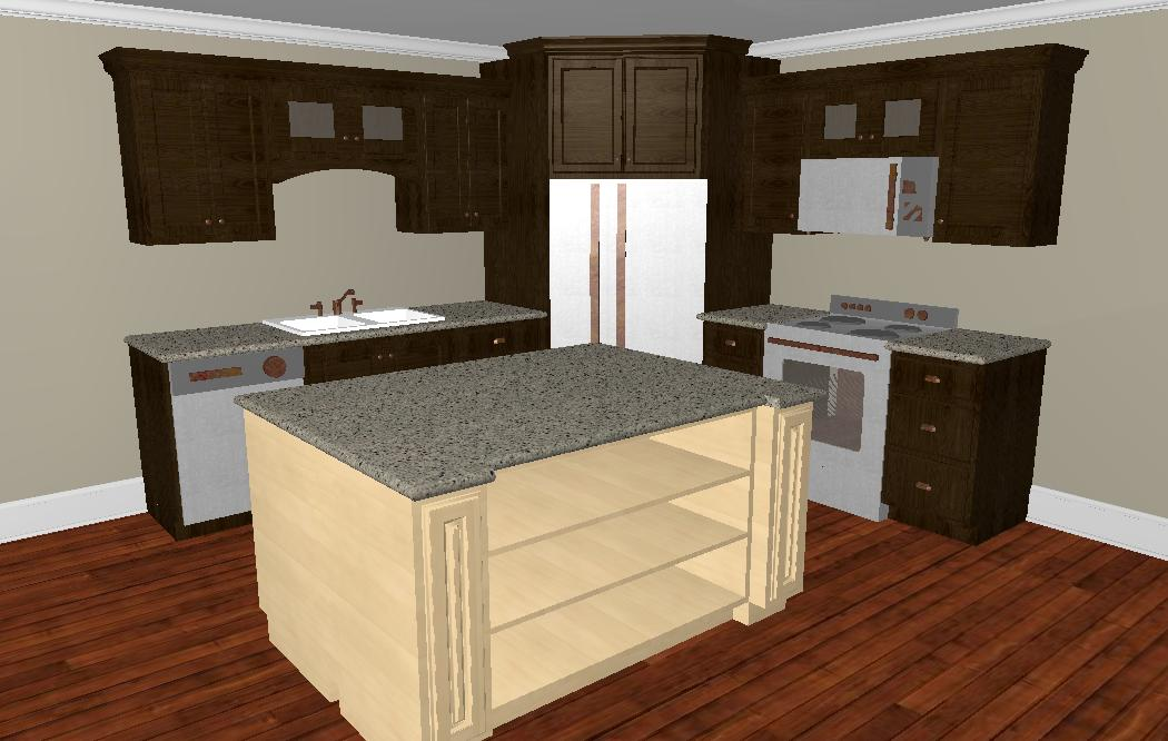 L Shaped Kitchen Layout With Corner Pantry whether to place a refrigerator in the corner
