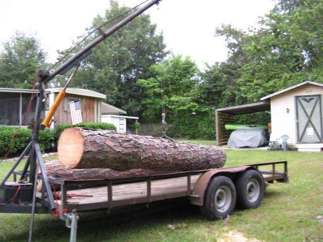 Home Built Logging Trailer Ideas