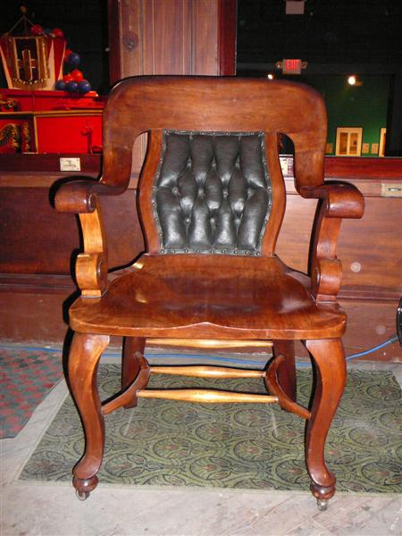 Antique Wood Chair  Antique Furniture