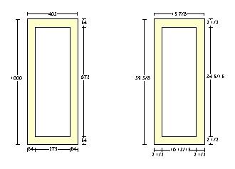 Metric Doors Oak Pair Maker In Contemporary Style