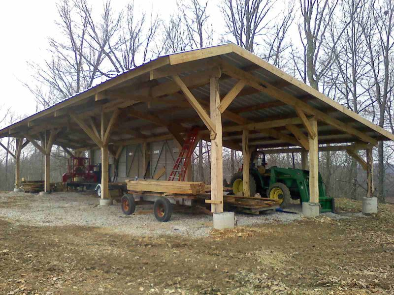 Tycoon Wood Shed Lumber