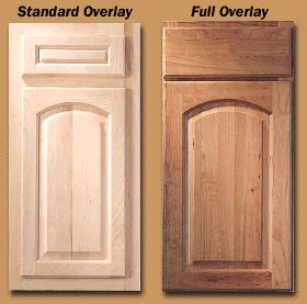 I Mean We Donu0027t Do Face Frame Cabinets With Overlay Doors, Standard Or Full.  It Really Makes No Sense To Me, Since You Waste A Lot Of Space With ...