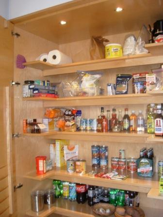 Pantry Doors With Storage