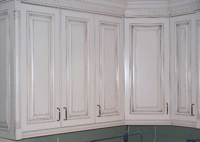 Painted glazed kitchen cabinets pictures images - How to glaze kitchen cabinets that are painted ...