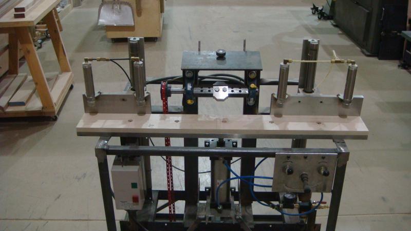 Shop Built Beaded Face Frame Notching Machine