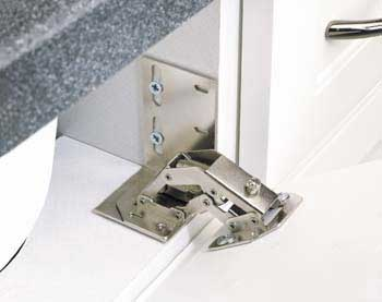 Sink Tip Out Hinge Choices
