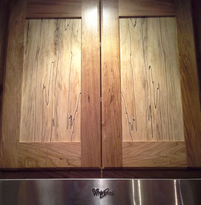 Polyurethane Kitchen Cabinets: Troubleshooting Pencil Dents In Polyurethane Over Maple