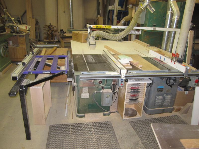 Twin tablesaw setups click here for higher quality full size image keyboard keysfo Choice Image