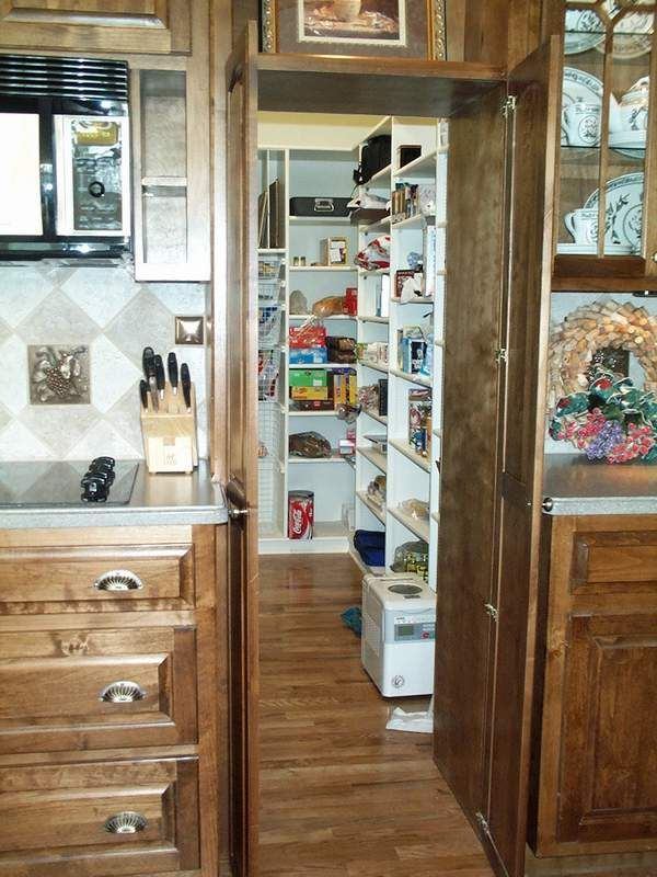 Ingenious Hidden Pantry Idea