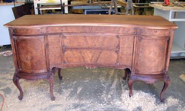 Old Furniture Refinishing Question: Dye Or Stain? Lacquer Or Shellac?