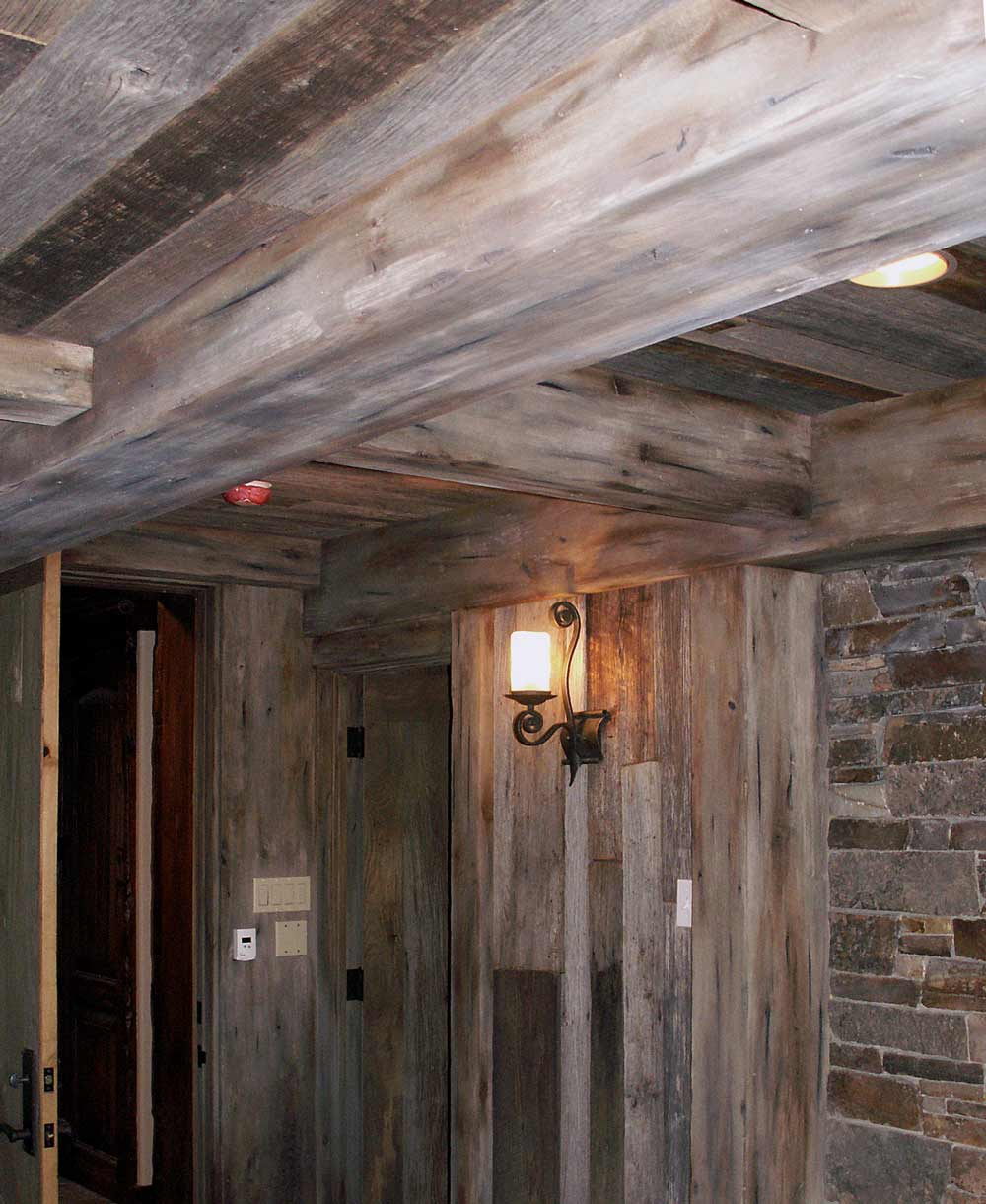 Weathered Barn Wood : Gray Aging to Match Old Weathered Wood