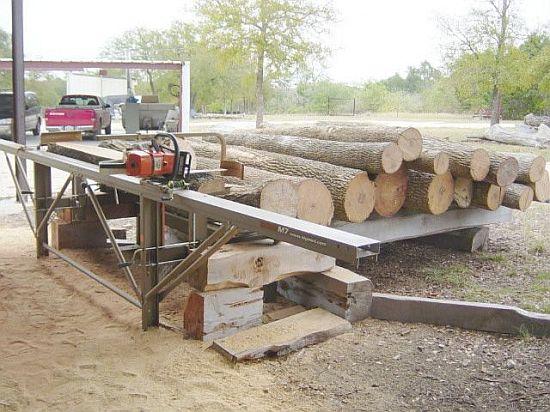 Portable Band Sawmill Lumberman Mn26