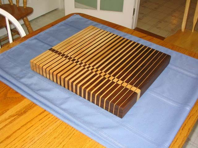 End Grain Cutting Board Design