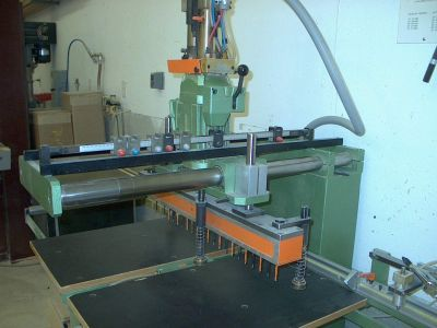 A Jig for Producing Shelf Pin Holes