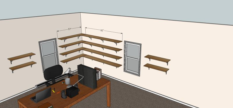 Based On The Layout And Number Of Shelves You Have Unless Your Client Is Literally Loading Weights
