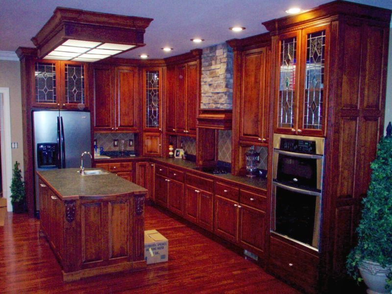 Box Fixture Ideas For Kitchen Fluorescent Lights - Wooden kitchen light fixtures