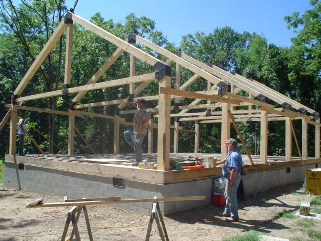 Building With Green Lumber