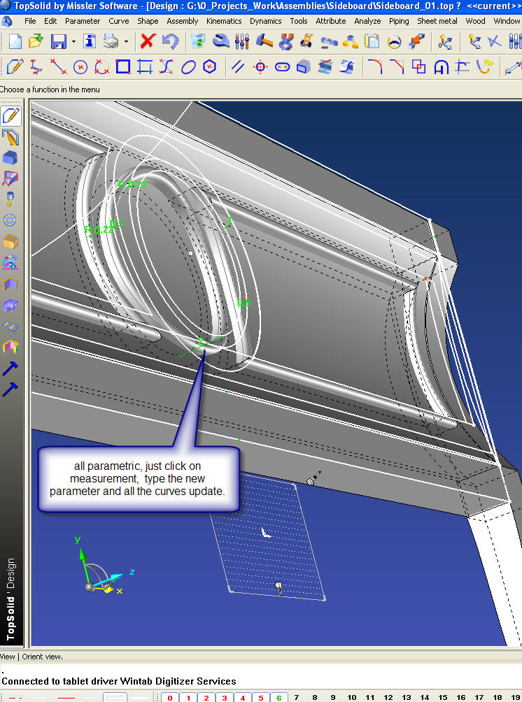 Choosing Cad Cam For Complex Carved Custom Furniture