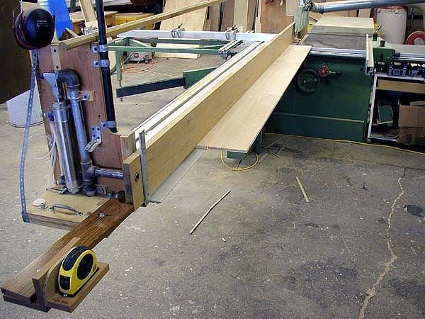 Clamp Retrofits For Sliding Table Saws