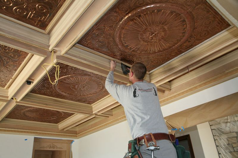 Coffered Ceiling Tips And Examples