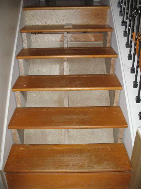 Correcting Stair Riser Height In Place