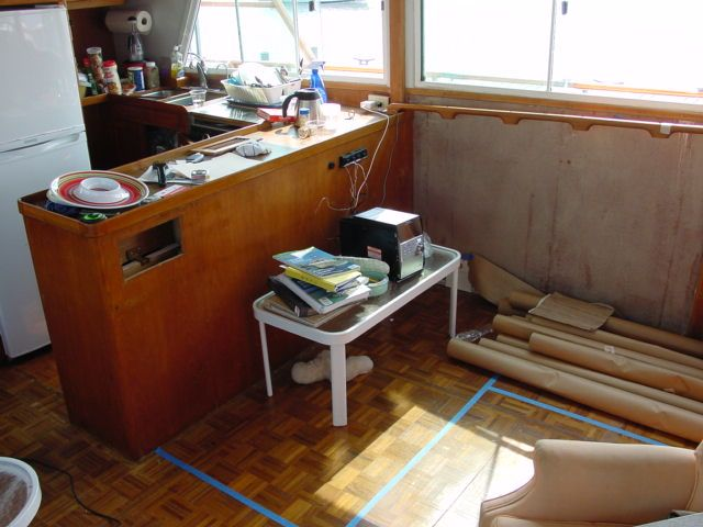 Custom Built In Seating For A Boat