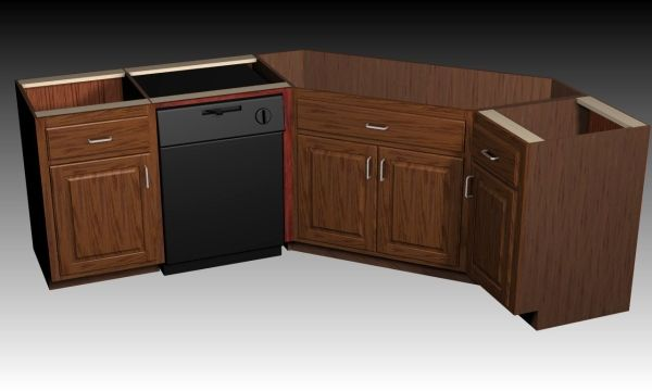 Corner Kitchen Sink Base Unit : Simple But Beautiful Kitchen Design also Kitchen Corner Base Sink ...
