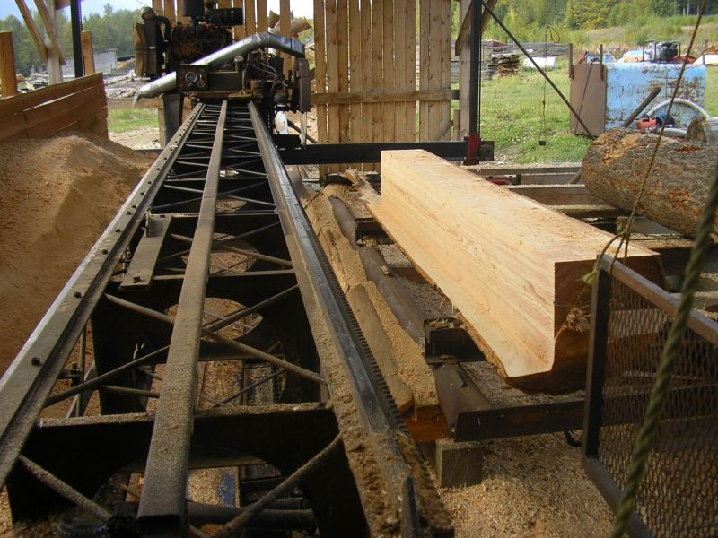 Designing A Space Frame Sawmill Frame