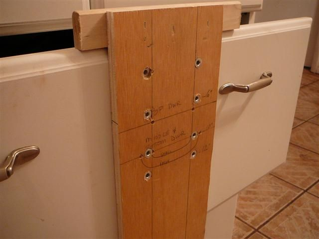 Drawer Pull Drilling Jigs