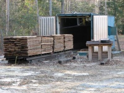 how to build a wood kiln dryer